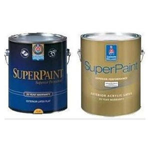 Sherwin Williams SUPERPAINT EXTERIOR LATEX FLAT