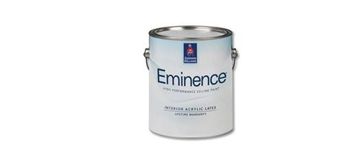 Краска для ИнтерьераBrilliance изменила название на Eminence