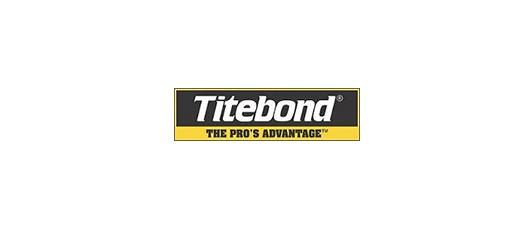 Таблица использования Titebond