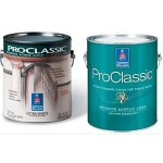 Sherwin Williams PROCLASSIC INTERIOR ACRYLIC LATEX